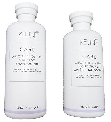 Keune Care Line - Absolute Volume Shampoo and Conditioner Set