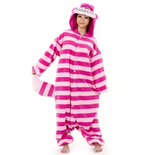 Disney Kigurumi 2: Cute & Cuddly Pajamas / Street Wear (Direct from Japan) (The Cheshire Cat (Alice in Wonderland))