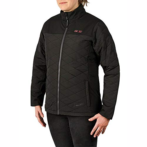 Milwaukee 233B-202X M12 Heated Women's Axis Jacket Only 2x (Black)