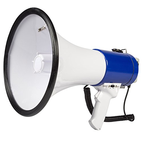 Invero Professional 25W Super Loud Megaphone with Detachable Handheld...