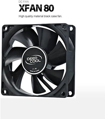 DeepCool XFAN80 - XFAN80 - Ventilador de Caja, Negro: Amazon.es ...