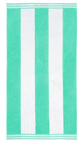 Beach Mint - Superior Luxurious 100% Cotton Beach Towels, Oversized 34