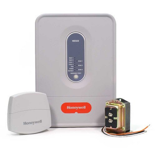 Honeywell HZ322K Truezone Kit with Dats, Transformer and HZ322 Panel