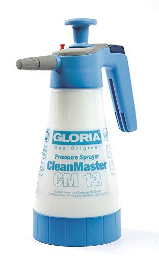 Gloria Drucksprüher Drucksprühgerät für Reinigung 1,25L CleanMaster CM12, weiß