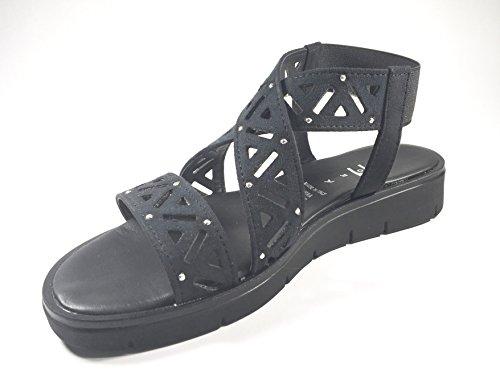 Agora - Sandalias de vestir de Piel para mujer Varios Colores multicolor 35 negro