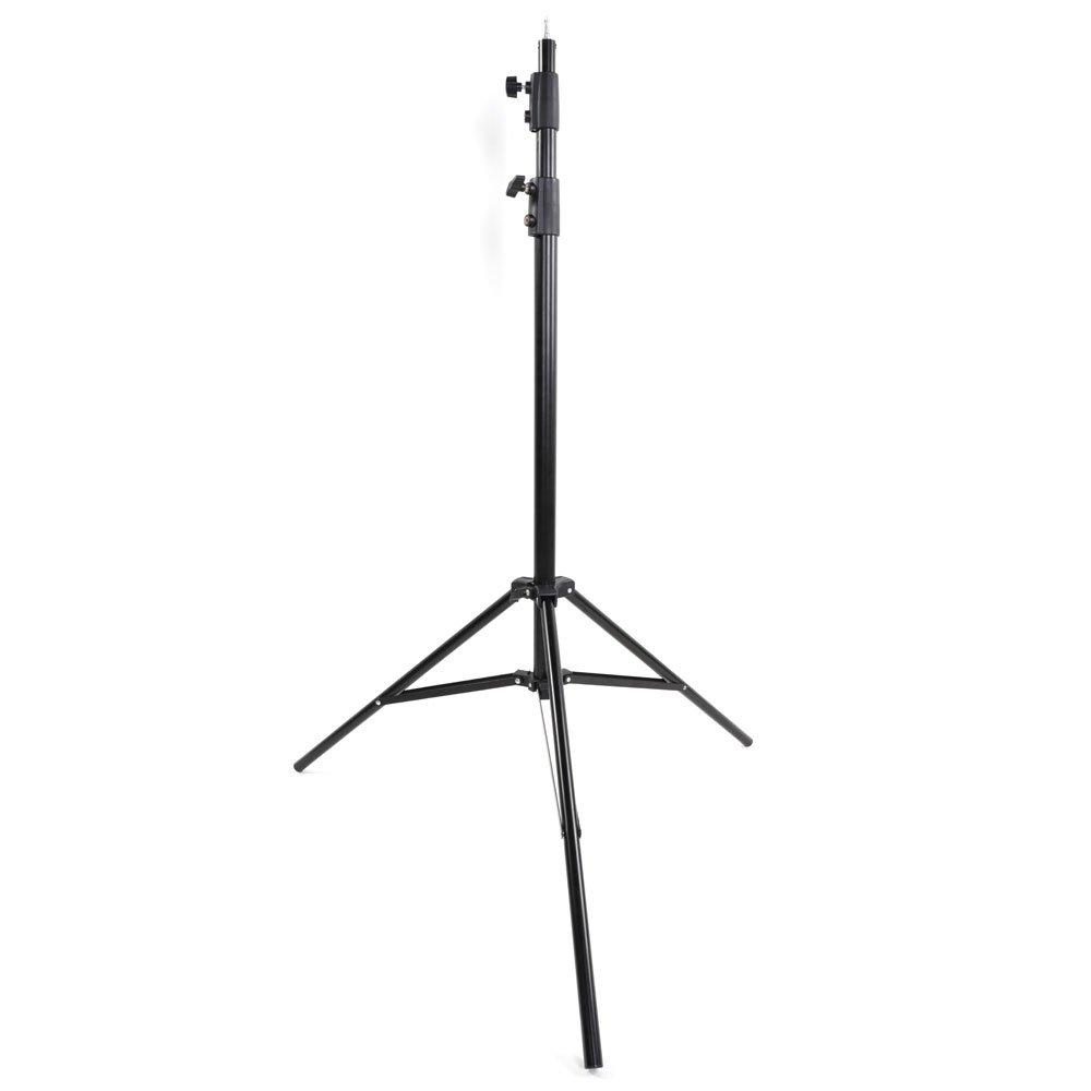 Kshioe 110インチ フォトスタジオ ライトブラケット グリップホルダー 高さ調節可能   B07NWG5VS7