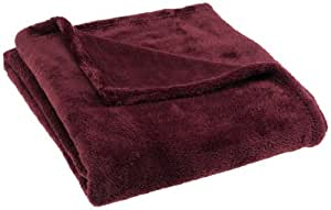 Pinzon 50-by-60-Inch Microtec Throw, Aubergine