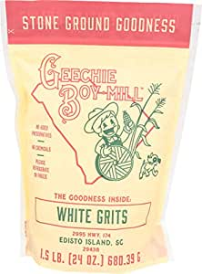 Geechie Boy Mill White Grits, 24 Ounce Bag