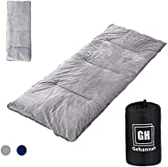 Gehannah Camping Sleeping Pad,Soft Comfortable Cotton Cot Pads Lightweight Foldable Mattress Pads for Travelin
