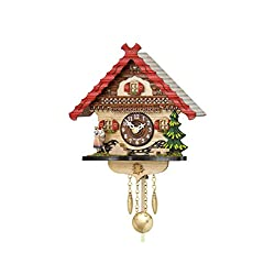 Kuckulino Black Forest Clock with quartz movement and cuckoo chime TU 2057 PQ