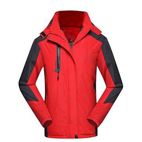 Red Air Wu Alpinisme Hiver Épaissir Femmes Coton D'extérieur En Peluche Vestes Vêtements Lai Plein Dames Voyage wTqwZOg