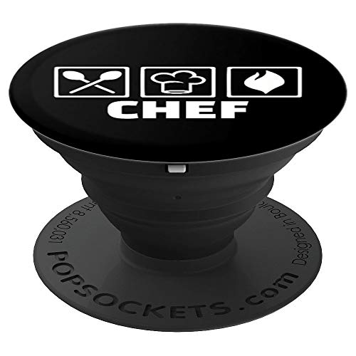 Chef tools PopSockets Grip and Stand for Phones and Tablets