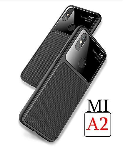 quality design 847c3 89dad Mobistyle Xiaomi Redmi Mi A2 Lite Camera Lens Protection Luxury & Elegant  Glass Back Cover Case for Xiaomi Mi A2 (Glass Case)