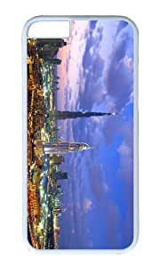 MOKSHOP Adorable Burj al Khalifa Dubai Hard Case Protective Shell Cell Phone Cover For Apple Iphone 6 (4.7 Inch) - PC White