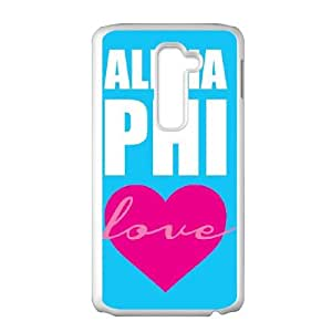 LG G2 Cell Phone Case White_Love Alpha Phi Xxwjk