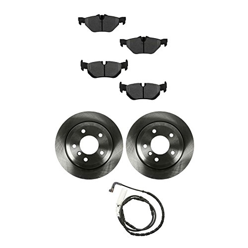 Brake Pad Rotor Wear Sensor Kit Metallic Rear for BMW 328xi 328i x Drive