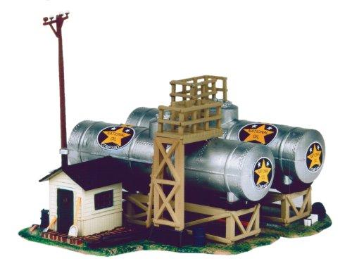 Life-Like Trains HO Scale Building Kits - National Oil ()
