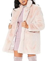 Topshop fake fur mantel