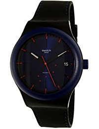 Swatch Men's SUTB403 Black Silicone Swiss Automatic Watch