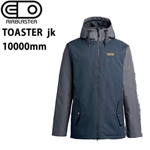 AIR BLASTER エアブラスター ウェア 19-20 TOASTER -jacket/黒 ジャケット (2019-2020) AIR blaster ウエア スノーボード ウェア メンズ【C1】  Small
