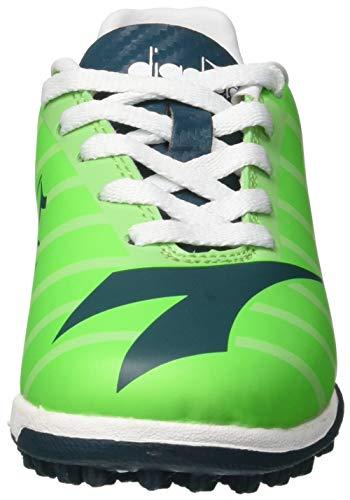C7677 Rb2003 – green Tf atlantic Diadora Jr Da Fluo Deep Unisex Bambini Indoor Multicolore R Calcetto Scarpe 1wzdzqna