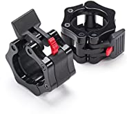 """Black Mountain Products Quick Release Barbell Clamps for 2"""" Olympic"""