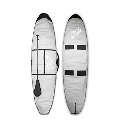 SUPATX Deluxe Paddleboard Bag, Grey, 10'0'' by Sup ATX (Image #1)
