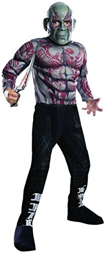 Guardians of the Galaxy Drax the Destroyer Boy's Movie Costume -
