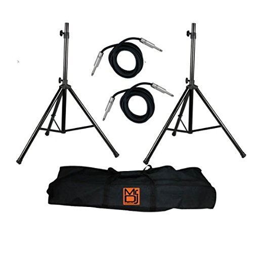 Mr DJ Speaker Stand-25ft Cable Package by RR-MR DJ