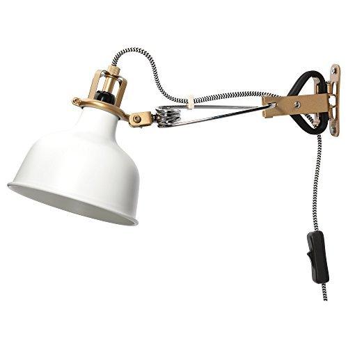 Ikea Wall Lamp Clamp Spotlight Off-white Ranarp