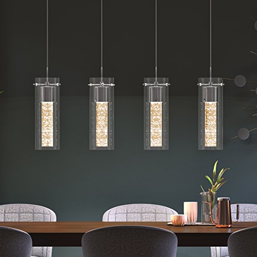 Artika Ome59b Hd2 4 Pendant Dimmable Light Fixture With