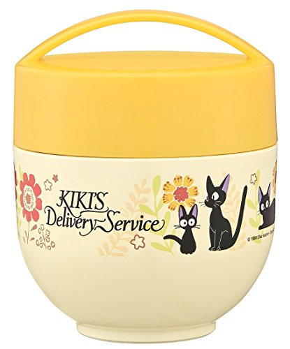 [Ghibli Kiki's Delivery Service Gerbera lightweight cafe bowl warming lunch jar From Japan New] (Comic Book Character Costumes Uk)
