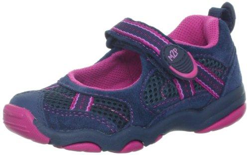 Stride Rite M2P Robin Sneaker (Toddler/Little Kid),Navy/Pink,12 M US Little Kid