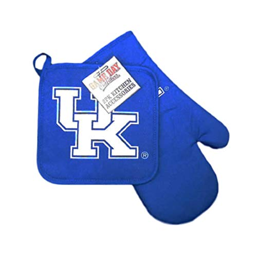 Jenkins Enterprises Kentucky Wildcats Kitchen Oven Mitt and Pot Holder
