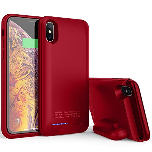 AEDLYK Battery Charger Case for iPhone Xs X 4000mAh Rechargeable Protective Portable Charging Case for iPhone X/XS Slim…
