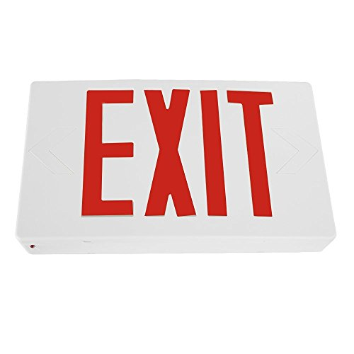 eTopLighting LED Exit Sign Emergency Light Lighting Emergency LED Light / Battery Back-up / Red Letter, AGG745