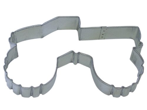 "R&M Monster Truck 5"" Cookie Cutter in Durable, Economical, Tinplated Steel"