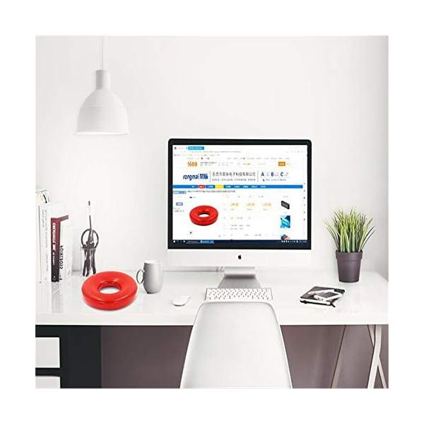 Haut-Parleur Bluetooth Portable Voyage extérieur étanche sans filHaut-Parleur Bluetooth stéréo Real Sound Rouge 175mmx175mmx37mm 6