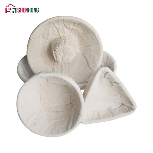 Best Quality - Baking Inserts - Various Shapes Fermentation Rattan Basket Country Bread Baguette Dough Banneton Brotform Proofing Proving Baskets - by GTIN - 1 PCs by HIBISCUS. (Image #2)