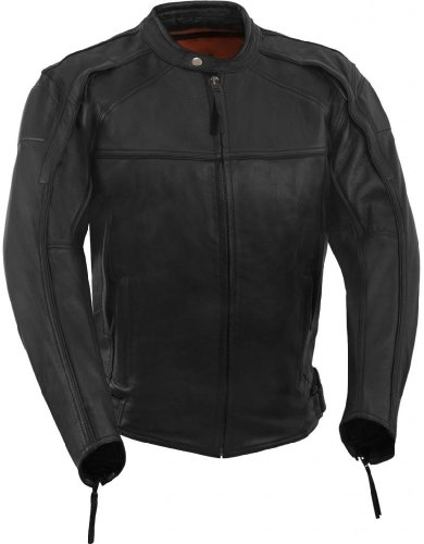 motorcycle vented jacket - 1