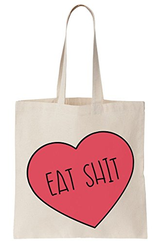 Canvas Painting Cozy T S Bag Tote Heart Eat zwAvqXA4