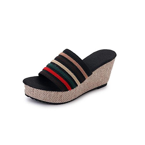 De Mujer Verano Modelando Durable Confort Zapatos OkXiTPuZ