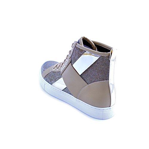 AJ Armani Jeans 925168 Sneakers Mujer Lt Beige