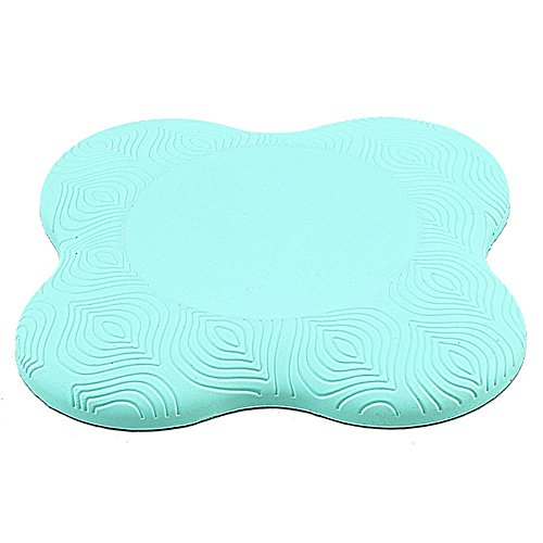 "Empower Yoga Knee Pad for Improved Support, Strength and Stability, Thick Yoga Mat Pad for Elbows, Headstands, Planks, Pilates, High Density Foam Fitness Pad, 7.5"" x 7.5""x .82"""