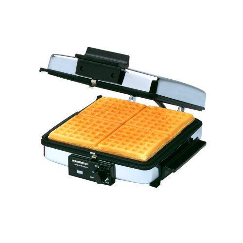 harga Black & Decker 3-in-1 Waffle Maker & Indoor Grill/Griddle Hargadunia.com