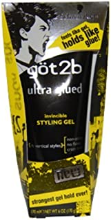product image for Got2b - Ultra Glued Invincible Styling Gel (6 oz.) 1 pcs sku# 1897731MA