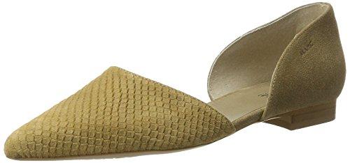 Closed WoMen Toe Ballet Beige Marc Pisa Flats Shoes O4wp66qt
