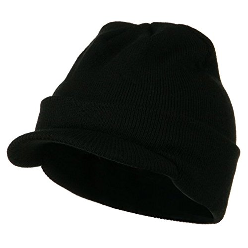 Adorox HAT  Black (w/ Visor) B00RUN65W2