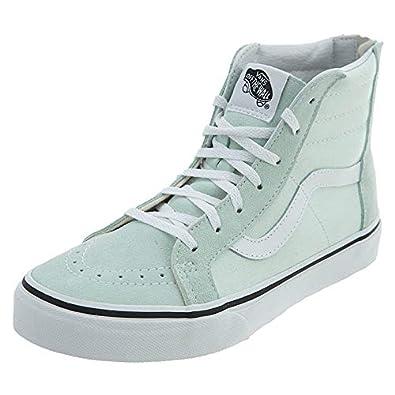 16bf9b734206 Vans Sk8-Hi Zip Preschool Skateboarding Shoe Big Kids Style   VN0A3276-QQ5  Size