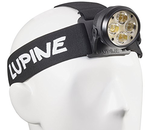Lupine Lighting Systems Wilma X 7 Headlamp, 3200 Lumens, LED, Rechargeable 6.6 Ah SmartCore Lithium-ion Battery